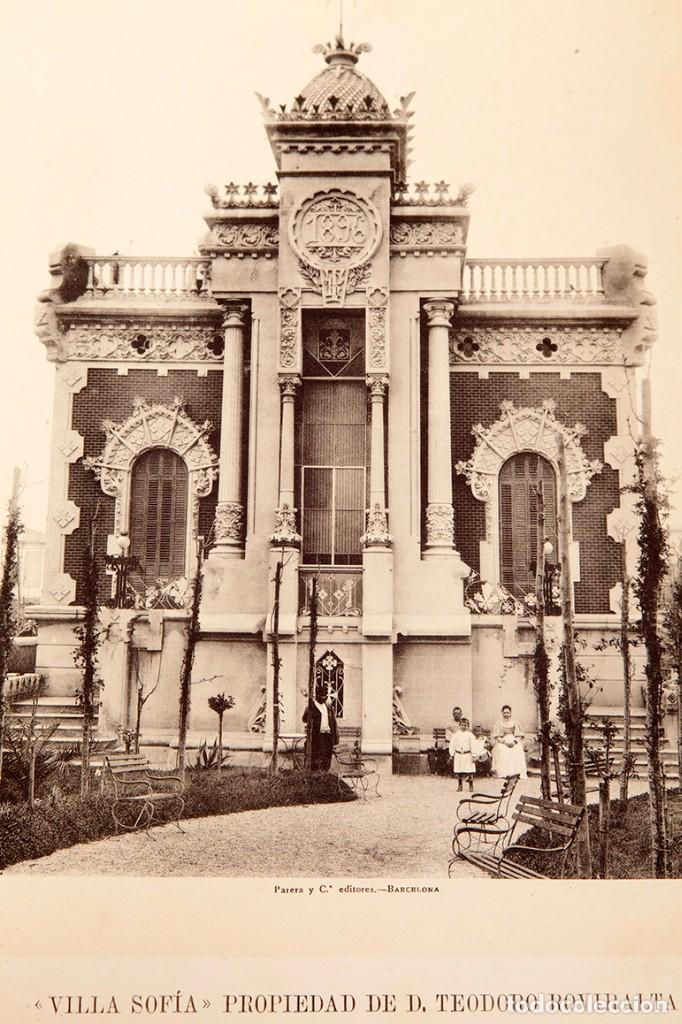 LUIS DOMENECH Y MONTANER : ARQUITECTURA MODERNA DE BARCELONA - 1900 (Libros Antiguos, Raros y Curiosos - Bellas artes, ocio y coleccion - Arquitectura)