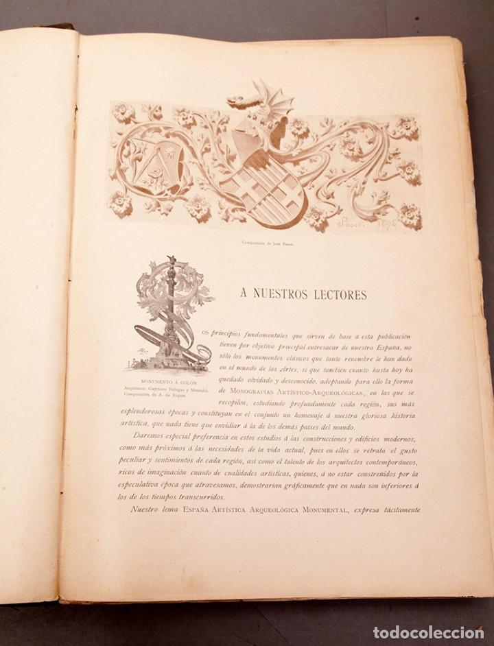 Libros antiguos: LUIS DOMENECH Y MONTANER : ARQUITECTURA MODERNA DE BARCELONA - 1900 - Foto 7 - 223491723