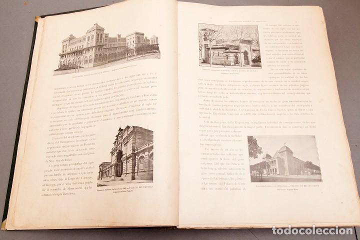 Libros antiguos: LUIS DOMENECH Y MONTANER : ARQUITECTURA MODERNA DE BARCELONA - 1900 - Foto 8 - 223491723