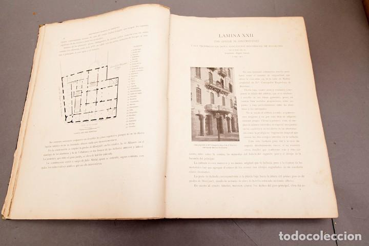 Libros antiguos: LUIS DOMENECH Y MONTANER : ARQUITECTURA MODERNA DE BARCELONA - 1900 - Foto 10 - 223491723
