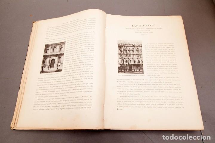 Libros antiguos: LUIS DOMENECH Y MONTANER : ARQUITECTURA MODERNA DE BARCELONA - 1900 - Foto 12 - 223491723