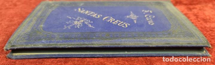 Libros antiguos: SANTAS CREUS. DESCRIPCION ARTISTICA DEL MONASTERIO. TEODORO CREUS. 1884 - Foto 2 - 224421698