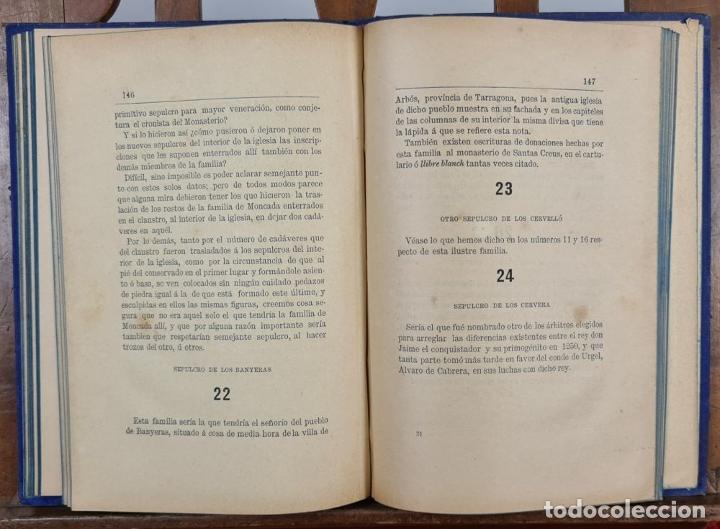 Libros antiguos: SANTAS CREUS. DESCRIPCION ARTISTICA DEL MONASTERIO. TEODORO CREUS. 1884 - Foto 4 - 224421698