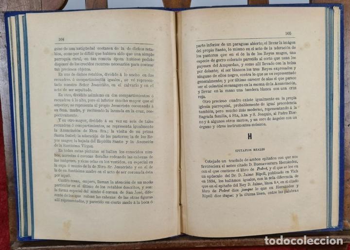 Libros antiguos: SANTAS CREUS. DESCRIPCION ARTISTICA DEL MONASTERIO. TEODORO CREUS. 1884 - Foto 6 - 224421698
