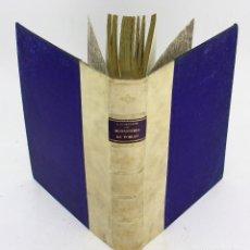 Libros antiguos: HISTORIA Y ARQUITECTURA DEL MONASTERIO DE POBLET, 1927, LLUÍS DOMÈNECH I MONTANER, BARCELONA.. Lote 225260398