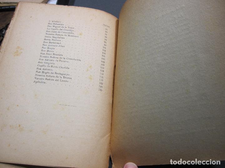Libros antiguos: FRANCISCO GRAS Y ELIAS. HISTORIA DE LAS ERMITAS DEL ARZOBISPADO DE TARRAGONA. REUS 1909 - Foto 9 - 225770000