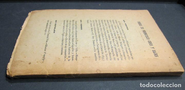 Libros antiguos: FRANCISCO GRAS Y ELIAS. HISTORIA DE LAS ERMITAS DEL ARZOBISPADO DE TARRAGONA. REUS 1909 - Foto 11 - 225770000