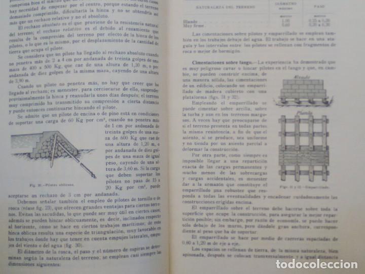 Libros antiguos: TRATADO PRÁCTICO DE EDIFICACIÓN / E. Barberot / 1927 - Foto 5 - 226791175