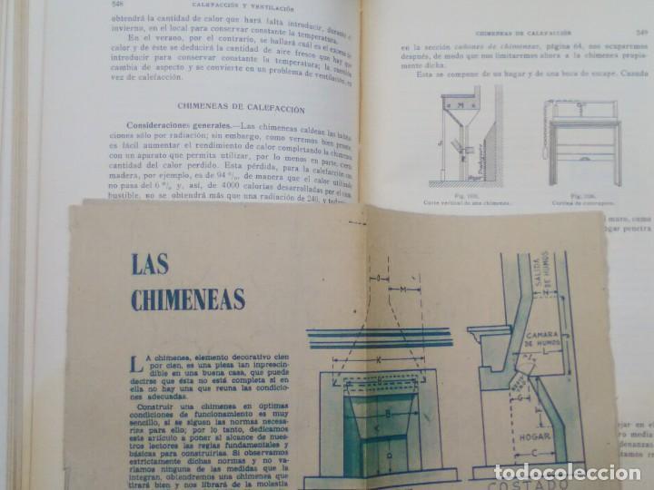Libros antiguos: TRATADO PRÁCTICO DE EDIFICACIÓN / E. Barberot / 1927 - Foto 7 - 226791175