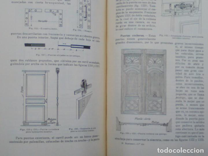 Libros antiguos: TRATADO PRÁCTICO DE EDIFICACIÓN / E. Barberot / 1927 - Foto 8 - 226791175