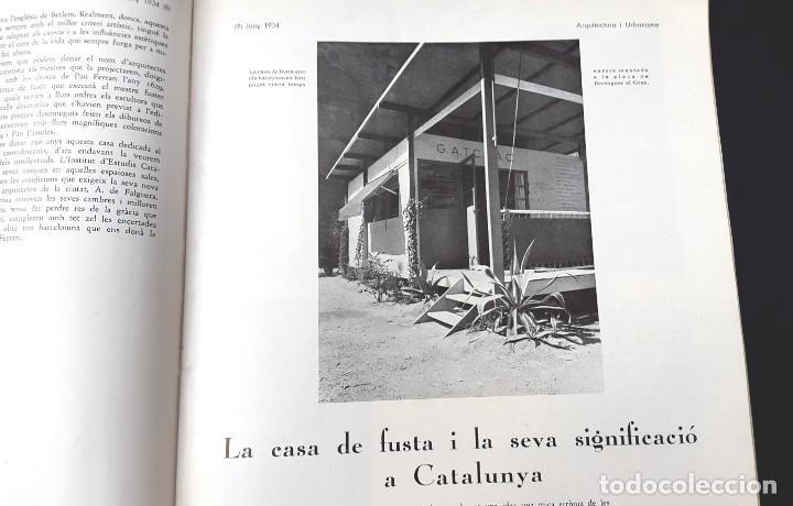 ARQUITECTURA I URBANISME - Nº 2 - CASETA GATCPAC - 1934 (Libros Antiguos, Raros y Curiosos - Bellas artes, ocio y coleccion - Arquitectura)