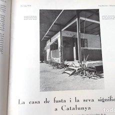 Libros antiguos: ARQUITECTURA I URBANISME - Nº 2 - CASETA GATCPAC - 1934. Lote 226885170