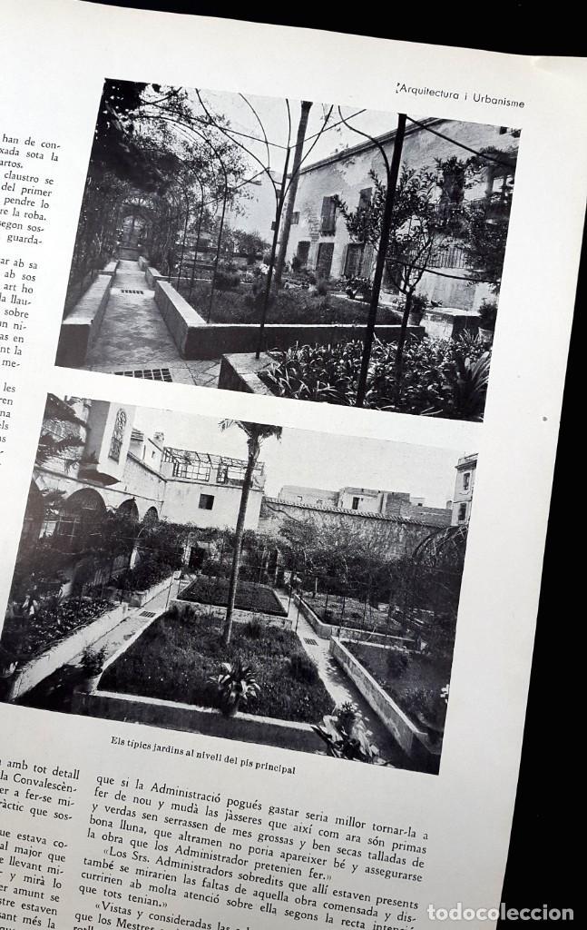 Libros antiguos: ARQUITECTURA I URBANISME - Nº 2 - CASETA GATCPAC - 1934 - Foto 5 - 226885170