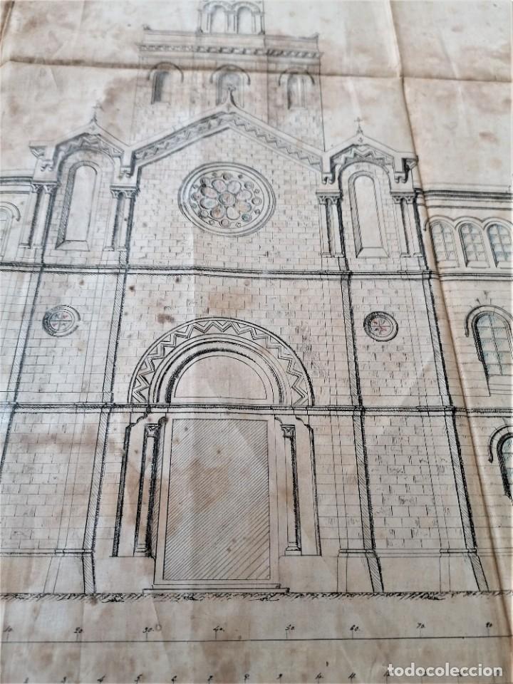 Libros antiguos: ARQUITECTURA,PLANOS,1882,POR JOAN MARTORELL MONTELLS,MAESTRO DE ANTONI GAUDI Y ANTONI ROVIRA TRIAS - Foto 6 - 226967722