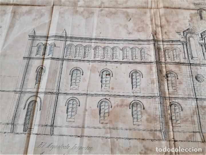 Libros antiguos: ARQUITECTURA,PLANOS,1882,POR JOAN MARTORELL MONTELLS,MAESTRO DE ANTONI GAUDI Y ANTONI ROVIRA TRIAS - Foto 7 - 226967722