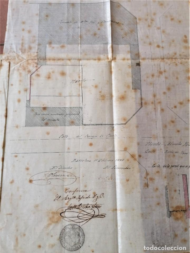 Libros antiguos: ARQUITECTURA,PLANOS,1882,POR JOAN MARTORELL MONTELLS,MAESTRO DE ANTONI GAUDI Y ANTONI ROVIRA TRIAS - Foto 9 - 226967722