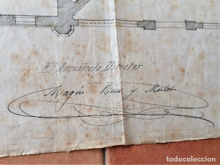 Libros antiguos: ARQUITECTURA,PLANOS,1882,POR JOAN MARTORELL MONTELLS,MAESTRO DE ANTONI GAUDI Y ANTONI ROVIRA TRIAS - Foto 13 - 226967722