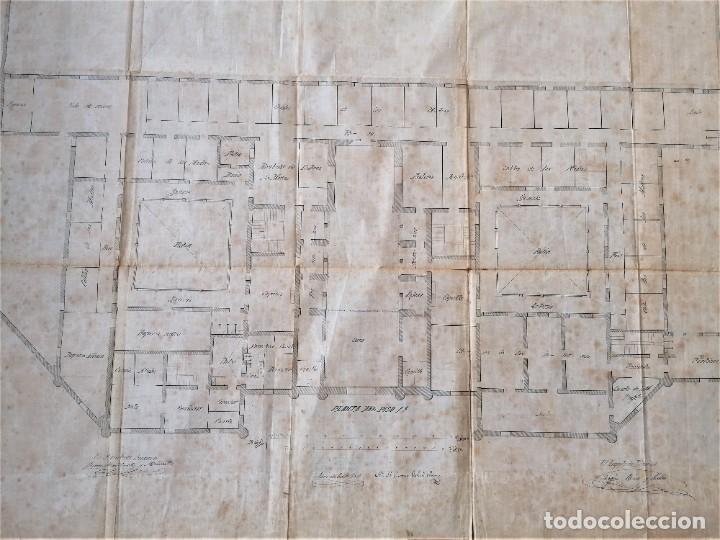Libros antiguos: ARQUITECTURA,PLANOS,1882,POR JOAN MARTORELL MONTELLS,MAESTRO DE ANTONI GAUDI Y ANTONI ROVIRA TRIAS - Foto 17 - 226967722