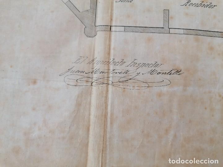 Libros antiguos: ARQUITECTURA,PLANOS,1882,POR JOAN MARTORELL MONTELLS,MAESTRO DE ANTONI GAUDI Y ANTONI ROVIRA TRIAS - Foto 19 - 226967722
