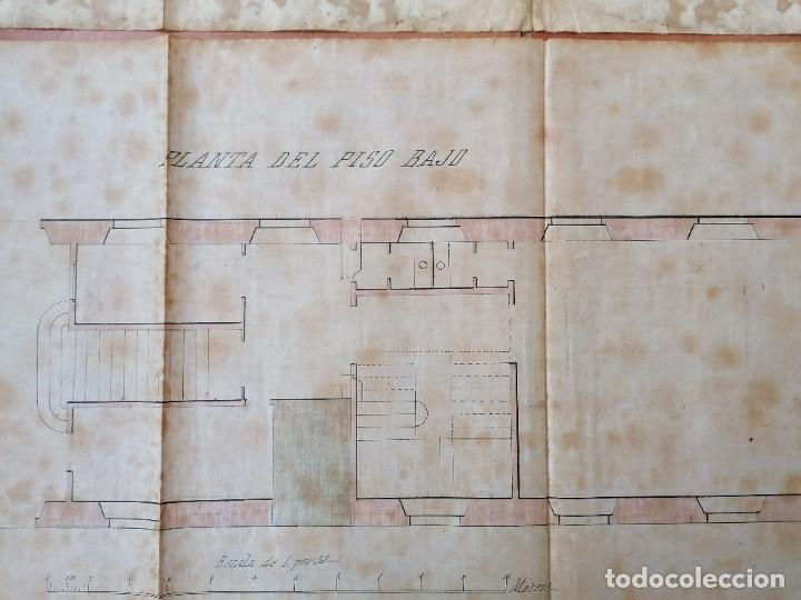 Libros antiguos: ARQUITECTURA,PLANOS,1877,ANTONI ROVIRA TRIAS Y CAMILO OLIVERAS,COLABORADOR ANTONI GAUDI,MODERNISTA - Foto 9 - 226977470