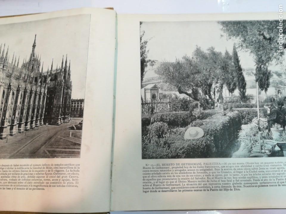 Libros antiguos: Portfolio de fotografias de las ciudades, paisajes y cuadros célebre... S1822T - Foto 4 - 227607215