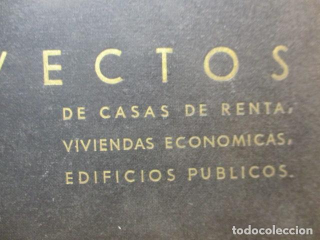 Libros antiguos: PROYECTOS DE CASAS DE RENTA / I. ARESTI ED. 1935 / CASAS ECONÓMICAS - EDIFICIOS PUBLICOS - FIRMA EDI - Foto 2 - 228993940