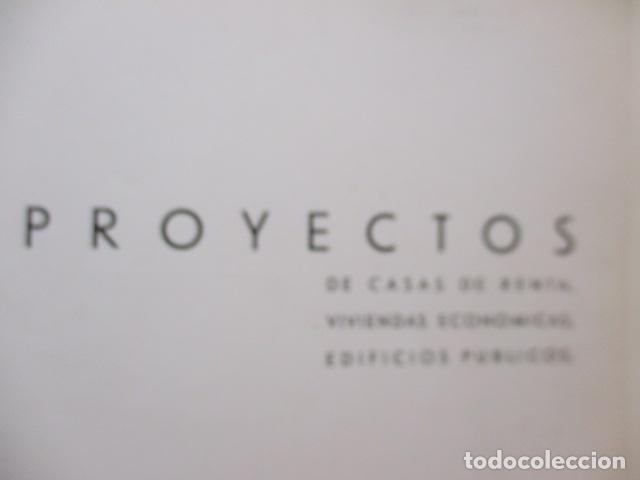 Libros antiguos: PROYECTOS DE CASAS DE RENTA / I. ARESTI ED. 1935 / CASAS ECONÓMICAS - EDIFICIOS PUBLICOS - FIRMA EDI - Foto 13 - 228993940