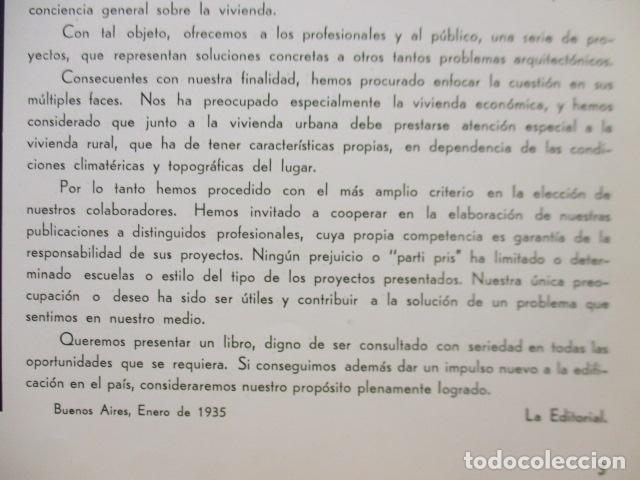 Libros antiguos: PROYECTOS DE CASAS DE RENTA / I. ARESTI ED. 1935 / CASAS ECONÓMICAS - EDIFICIOS PUBLICOS - FIRMA EDI - Foto 19 - 228993940