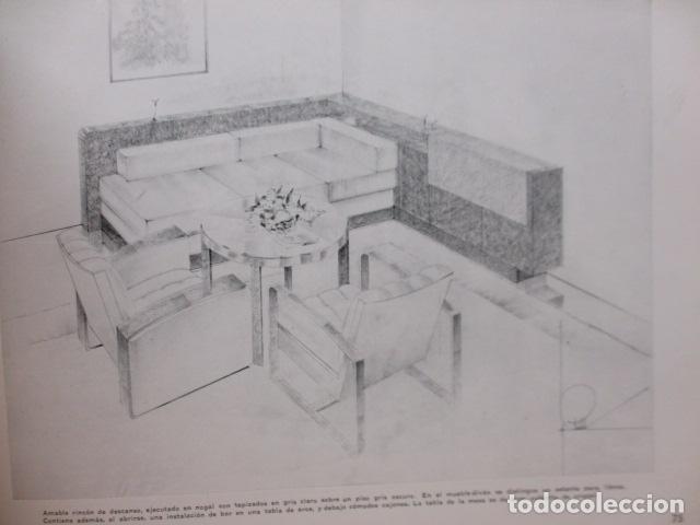 Libros antiguos: PROYECTOS DE CASAS DE RENTA / I. ARESTI ED. 1935 / CASAS ECONÓMICAS - EDIFICIOS PUBLICOS - FIRMA EDI - Foto 27 - 228993940