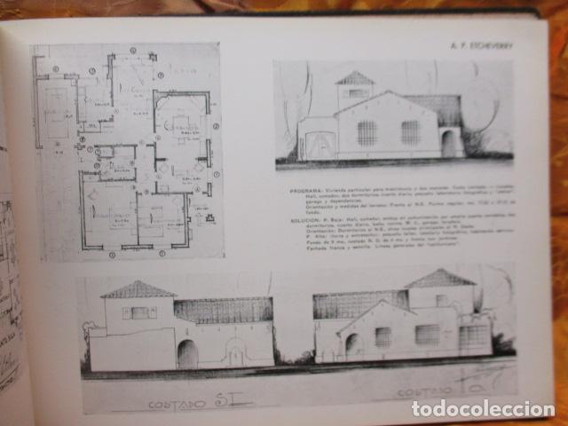 Libros antiguos: PROYECTOS DE CASAS DE RENTA / I. ARESTI ED. 1935 / CASAS ECONÓMICAS - EDIFICIOS PUBLICOS - FIRMA EDI - Foto 31 - 228993940