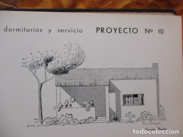 Libros antiguos: PROYECTOS DE CASAS DE RENTA / I. ARESTI ED. 1935 / CASAS ECONÓMICAS - EDIFICIOS PUBLICOS - FIRMA EDI - Foto 36 - 228993940