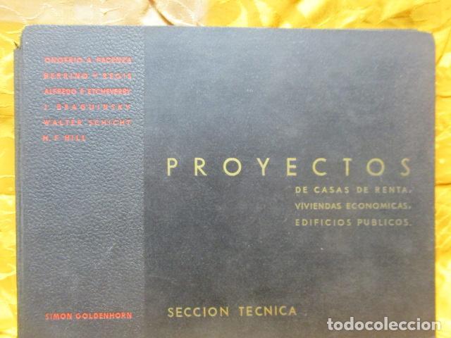 PROYECTOS DE CASAS DE RENTA / I. ARESTI ED. 1935 / CASAS ECONÓMICAS - EDIFICIOS PUBLICOS - FIRMA EDI (Libros Antiguos, Raros y Curiosos - Bellas artes, ocio y coleccion - Arquitectura)