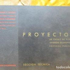 Libros antiguos: PROYECTOS DE CASAS DE RENTA / I. ARESTI ED. 1935 / CASAS ECONÓMICAS - EDIFICIOS PUBLICOS - FIRMA EDI. Lote 228993940