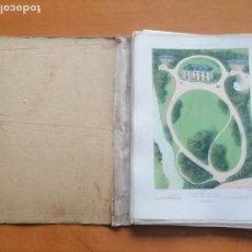 Libros antiguos: PARCS ET JARDINS DES ENVIRONS DE PARIS ... PAR VICTOR PETIT. PARIS, MONROCQ FRERES, 185-?. Lote 229568260