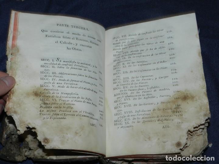 Libros antiguos: (M3.6) JUAN MULLER - TRATADO DE FORTIFICACION O ARTE DE CONSTRUIR LOS EDIFICIOS MILITARES Y CIVILES - Foto 5 - 233112685