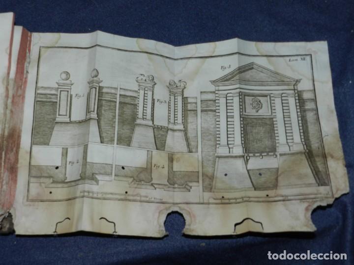 Libros antiguos: (M3.6) JUAN MULLER - TRATADO DE FORTIFICACION O ARTE DE CONSTRUIR LOS EDIFICIOS MILITARES Y CIVILES - Foto 6 - 233112685