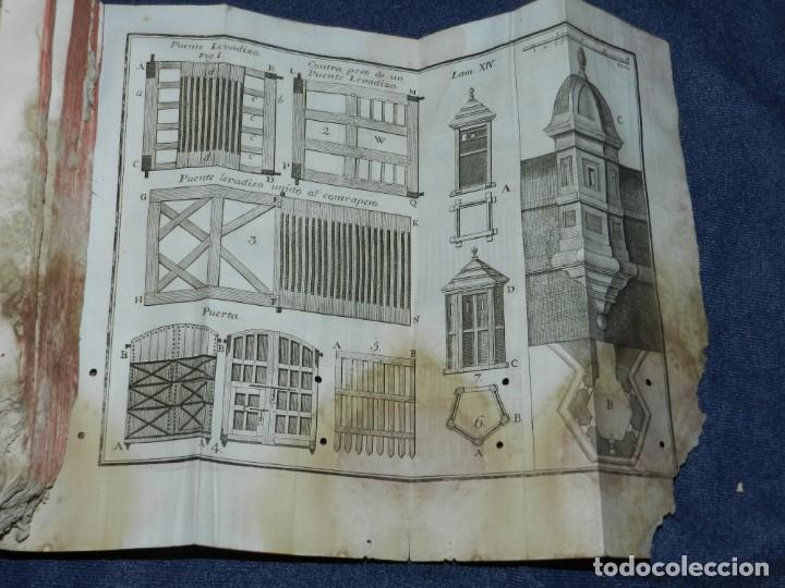 Libros antiguos: (M3.6) JUAN MULLER - TRATADO DE FORTIFICACION O ARTE DE CONSTRUIR LOS EDIFICIOS MILITARES Y CIVILES - Foto 7 - 233112685