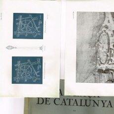 Libros antiguos: LA PLAÇA DE CATALUNYA JOSEP PUIG I CADAFALCH 1928 PROJECTES COMENTARIS COMPARACIONS COMPLET. Lote 234925240