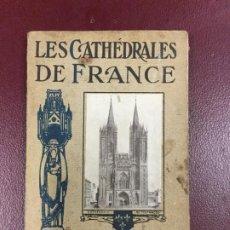 Libros antiguos: LES CATHEDRALES DE FRANCE - EDME ARCAMBEAU - I REGION DU NORD - 1913 - 180 FOTOGRAFIAS - 89P. 15X10. Lote 234932670