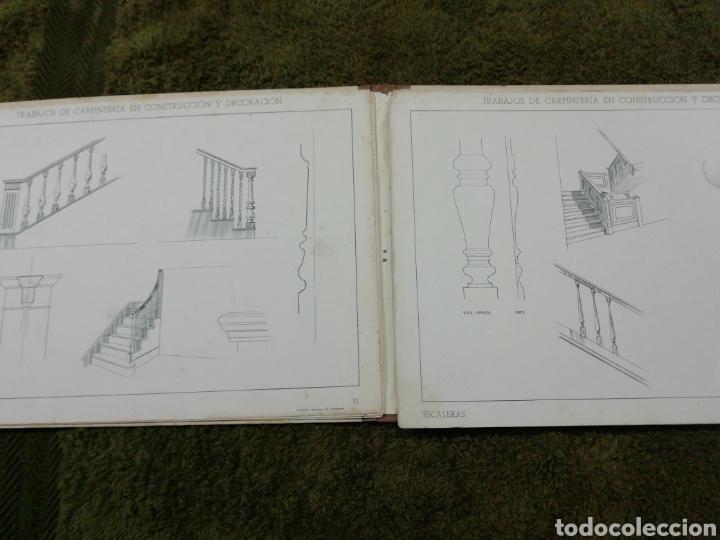 Libros antiguos: Libro trabajos de carpintería en construcción y decoración j Mascaró Arquitecto - Foto 3 - 235235740