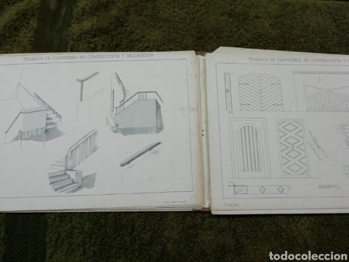 Libros antiguos: Libro trabajos de carpintería en construcción y decoración j Mascaró Arquitecto - Foto 4 - 235235740