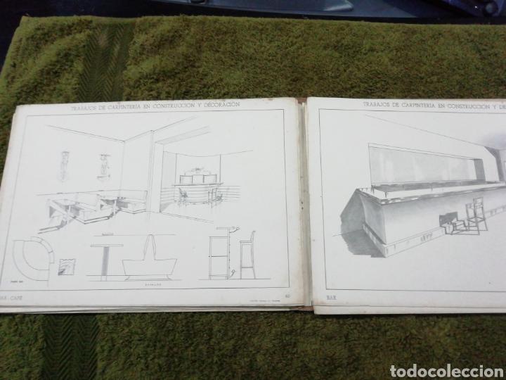 Libros antiguos: Libro trabajos de carpintería en construcción y decoración j Mascaró Arquitecto - Foto 5 - 235235740