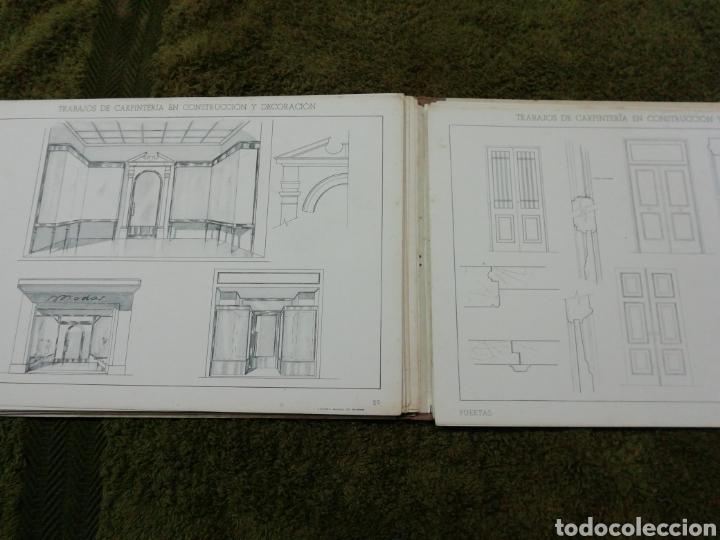 Libros antiguos: Libro trabajos de carpintería en construcción y decoración j Mascaró Arquitecto - Foto 6 - 235235740