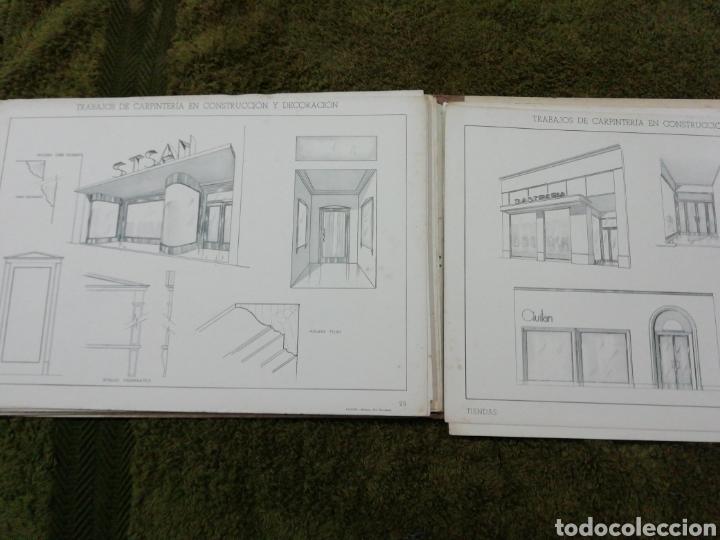 Libros antiguos: Libro trabajos de carpintería en construcción y decoración j Mascaró Arquitecto - Foto 7 - 235235740