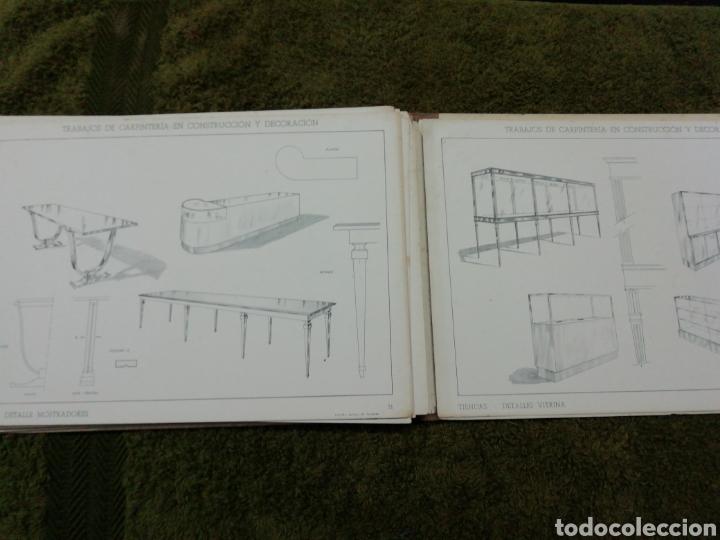 Libros antiguos: Libro trabajos de carpintería en construcción y decoración j Mascaró Arquitecto - Foto 8 - 235235740