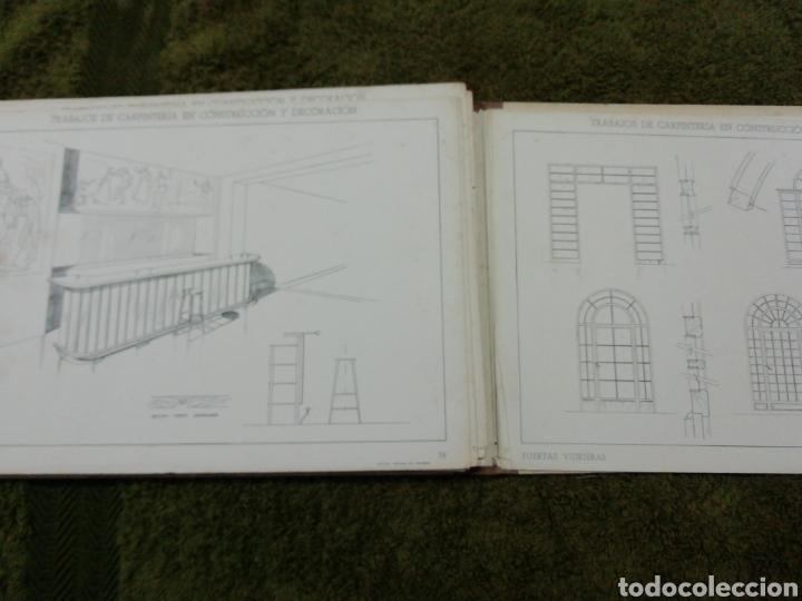 Libros antiguos: Libro trabajos de carpintería en construcción y decoración j Mascaró Arquitecto - Foto 9 - 235235740