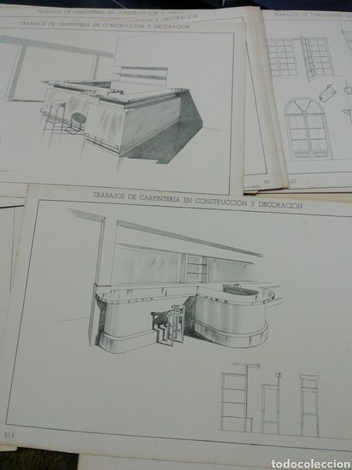 Libros antiguos: Libro trabajos de carpintería en construcción y decoración j Mascaró Arquitecto - Foto 10 - 235235740