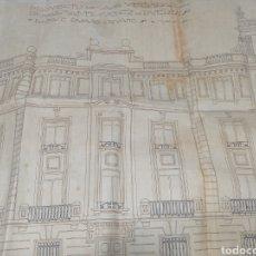 Libros antiguos: PROYECTO CASA VECINDAD SÁNCHEZ DE PUERTA RUANO Y RUANO CÓRDOBA 1924. Lote 236417080