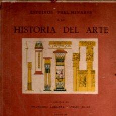 Libros antiguos: LABARTA / ELÍAS : PRELIMINARES DE HISTORIA DEL ARTE CLÁSICO (MUNTAÑOLA, 1925) CARPETA DE LÁMINAS. Lote 236512575