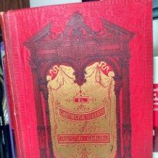 Libros antiguos: EL CONSTRUCTOR MODERNO - LÁMINAS ( 247 ) 1ª PARTE - FINES DEL S. XIX - MEDIA PIEL. Lote 237282620